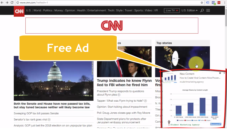 How to Get Free Promotional Advertising on CNN