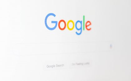 Google logo screengrab